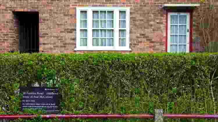 Casa da infância de Paul McCartney, em Liverpool - chrisdorney/Getty Images
