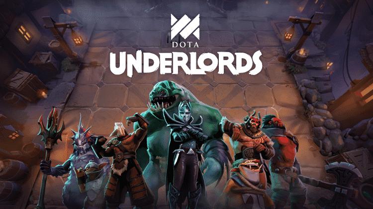 Dota Underlords KeyArt - Reprodução - Reprodução