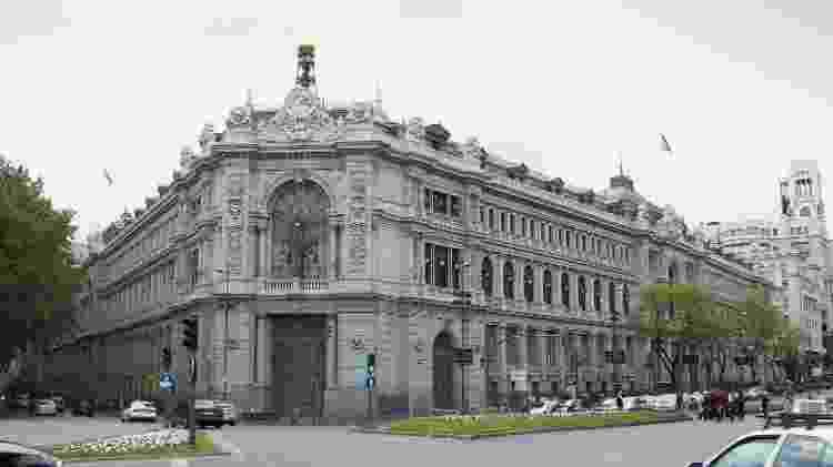 Fachada do Banco da Espanha, em Madri - Luis Garcia/WikiCommons