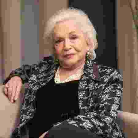 Gladys (Nathalia Timberg), em A Dona do Pedaço - João Miguel Júnior/ Globo - João Miguel Júnior/ Globo