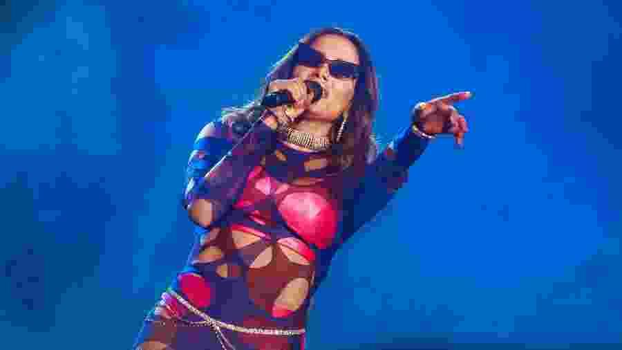 Anitta durante show no Rock in Rio - Divulgação