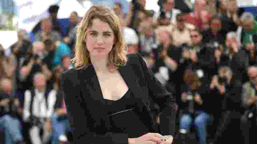 A atriz francesa Adèle Haenel acusou o diretor Christophe Ruggia de assédio sexual - Loic Venance/AFP