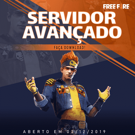 Imagem de divulgação mostra possível personagem disponível no servidor avançado do Free Fire - Divulgação/Garena