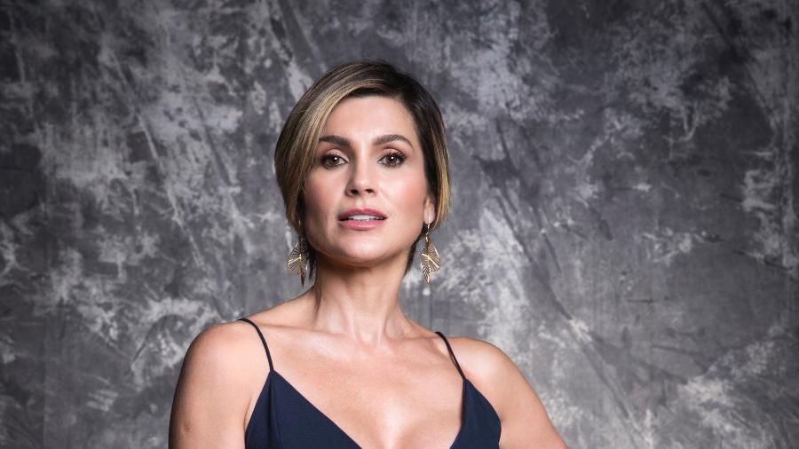 Flávia Alessandra comentou a resposta de Tomás a uma crítica feita por Bolsonaro a Bruno Covas - João Miguel Júnior TV Globo