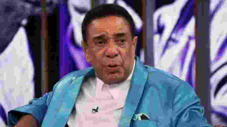 Agnaldo Timóteo participou do Conversa com Bial, da TV Globo - Reprodução/TV Globo