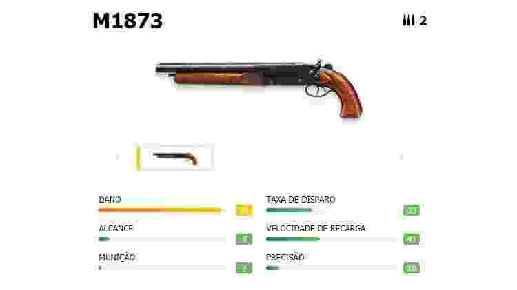 Free Fire M1873 - Reprodução - Reprodução