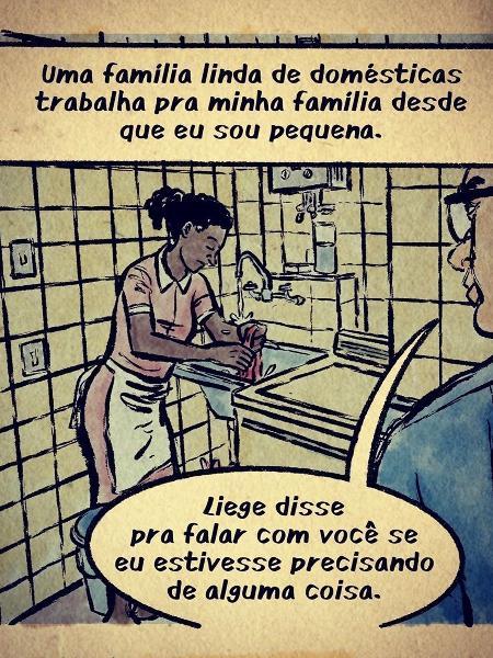 A série em quadrinhos é escrita por Leandro Assis, que também a ilustra, e Triscila Oliveira - Reprodução/Instagram