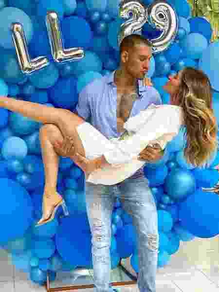 Lucas Lucco a noiva, Lorena Carvalho - Reprodução/Instagram
