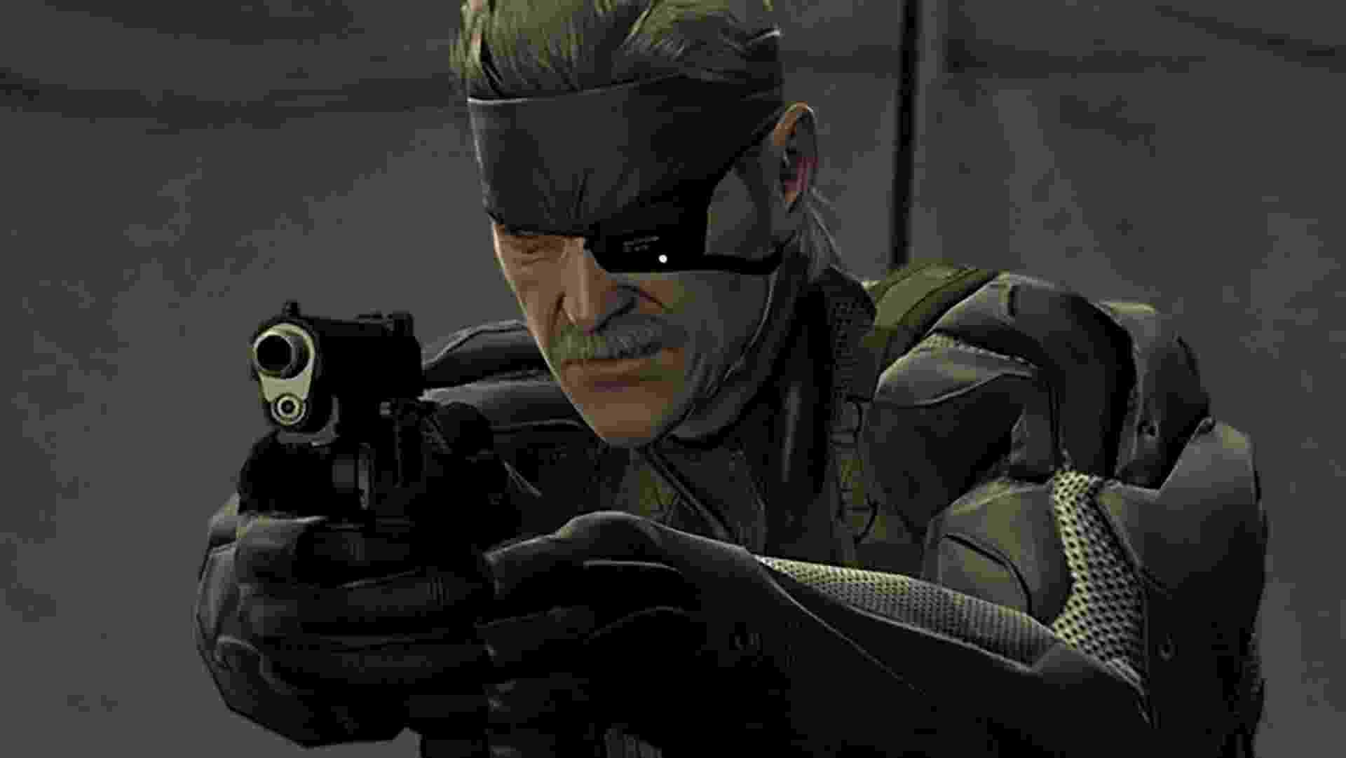 Metal Gear Solid 4 - Divulgação/Konami