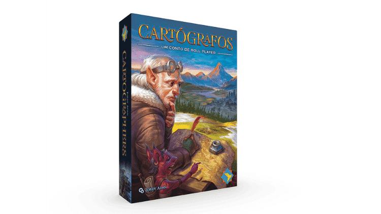 Cartógrafos Boardgames - Divulgação/CaixinhaBoardgames - Divulgação/CaixinhaBoardgames