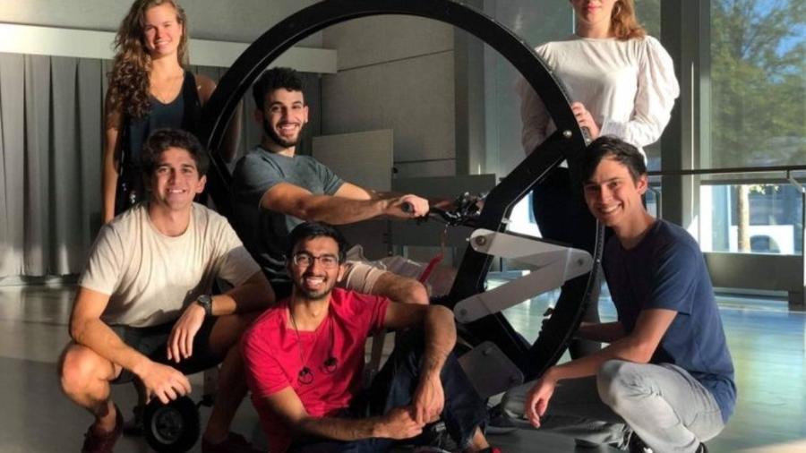Monociclo desenvolvido por alunos da faculdade de Duke - Divulgação