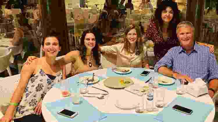 Sirkis, a esposa Ana Borelli, equipe CBC (esq.) e Karenna Gore (centro), em 2019 - Acervo Pessoal - Acervo Pessoal