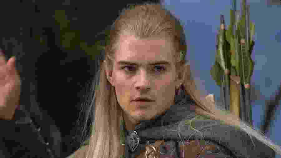 """Orlando Bloom, o Legolas de """"O Senhor dos Anéis"""", está ansioso para série da Amazon no mesmo universo dos filmes - Divulgação/IMDb/New Line Productions, Inc."""