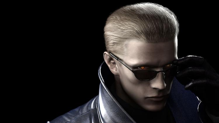 Wesker, personagem de Resident Evil Umbrella Chronicles - Press Release / Capcom - Press Release / Capcom