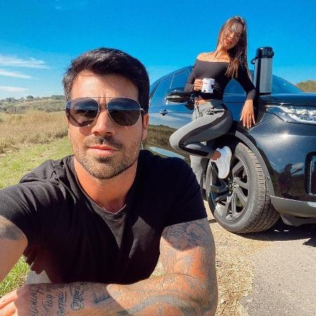 """Rodrigão é casado com Adriana Sant""""Anna, também do """"BBB 11"""" - Reprodução/Instagram"""