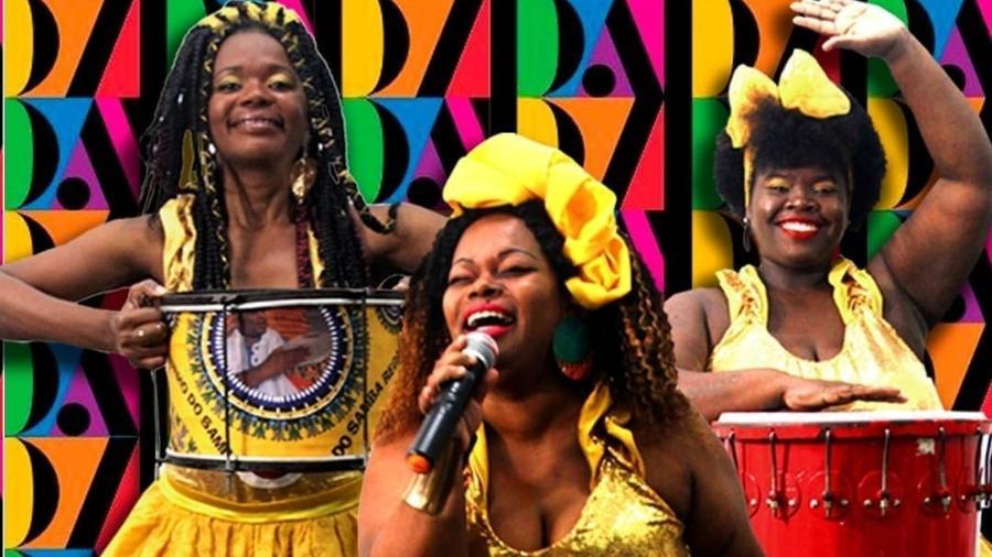 Didá Banda Feminina, primeiro grupo feminino de samba reggae - Reprodução Instagram