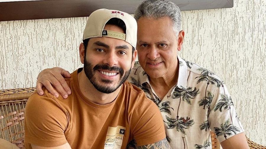 BBB 21: Rodolffo e o pai, Juarez Dias  - Reprodução/Instagram