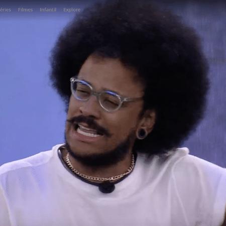 BBB 21: João chora ao falar de comparação de Rodolffo - Reprodução/Globoplay