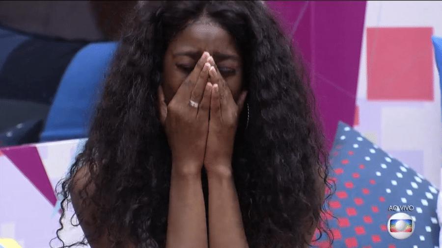BBB 21: Camilla se emociona ao ouvir mensagem dos pais - Reprodução/Globoplay