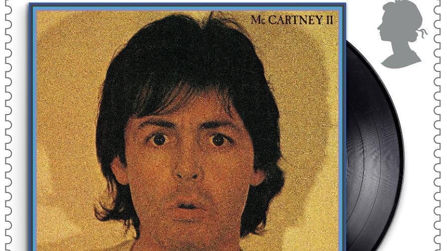 Série de selos do Royal Mail, o correio britânico, dedicada a Paul McCartney - Royal Mail/MPL Communications/via REUTERS