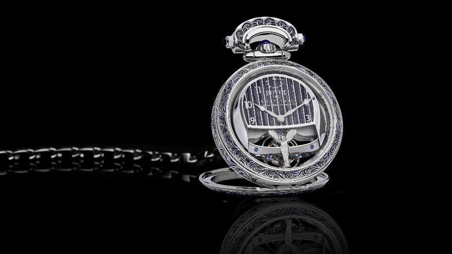 Relógio da Bovet 1822 para Rolls-Royce Boat Tail - Divulgação