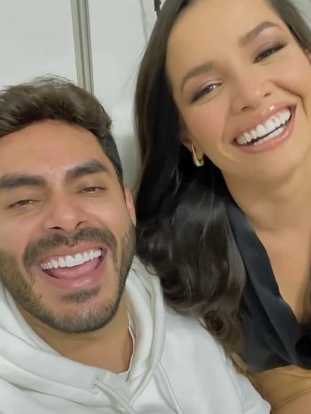 """Juliette e Rodolffo se encontram pela primeira vez após o """"BBB 21"""" - Reprodução/Instagram"""
