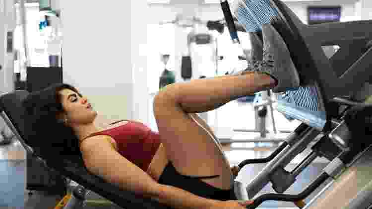 Musculação fortalece os braços e as pernas - iStock - iStock