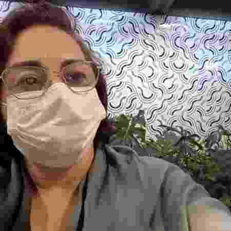 Sandra Santos, personagem BBC - Arquivo pessoal - Arquivo pessoal