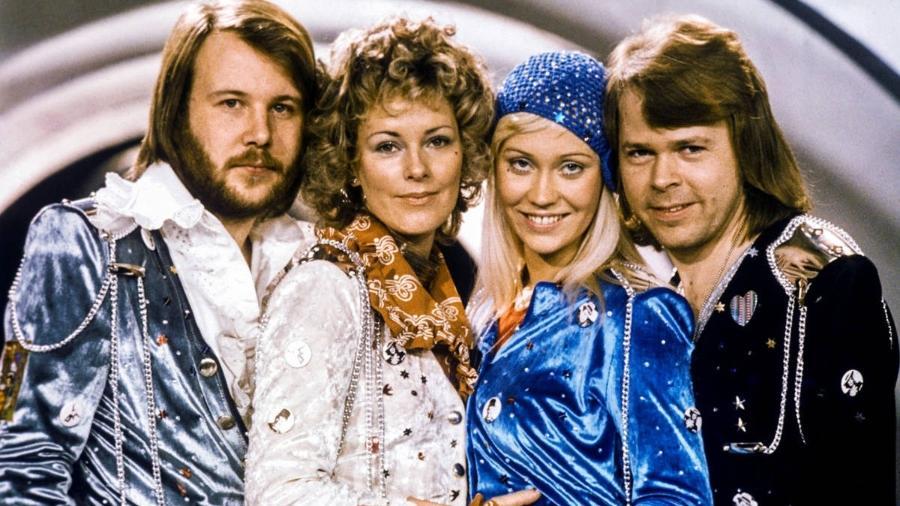 Grupo sueco ABBA - Divulgação