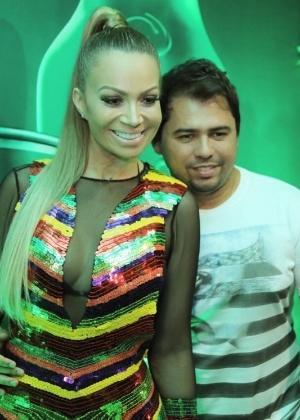 Solange Almeida e Xand no Carnaval de Salvador