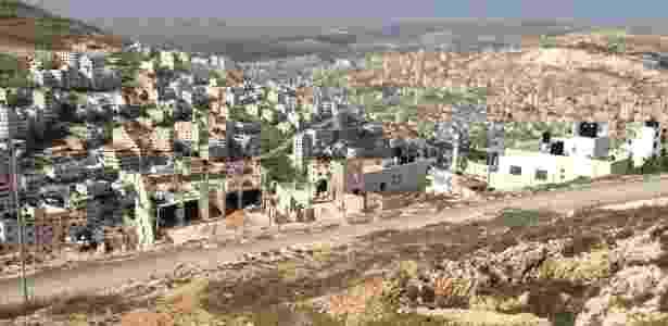 Os samaritanos fugiram da cidade palestina de Nablus (na foto) durante a 1ª Intifada - Marcel Vincenti/UOL