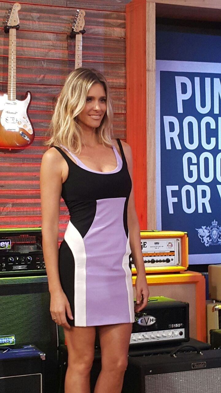 A apresentadora Fernanda Lima