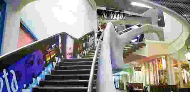 """Interior da """"Casa Torta"""", atração da cidade polonesa de Sopot - Topory/Creative Commons - Topory/Creative Commons"""