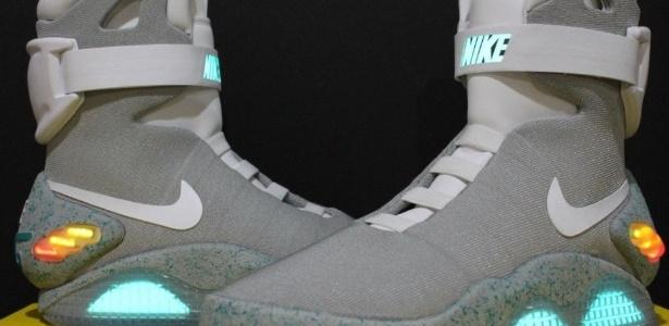 """Tênis Nike Air Mag, inspirado no filme """"De Volta para o Futuro 2"""" - Divulgação"""