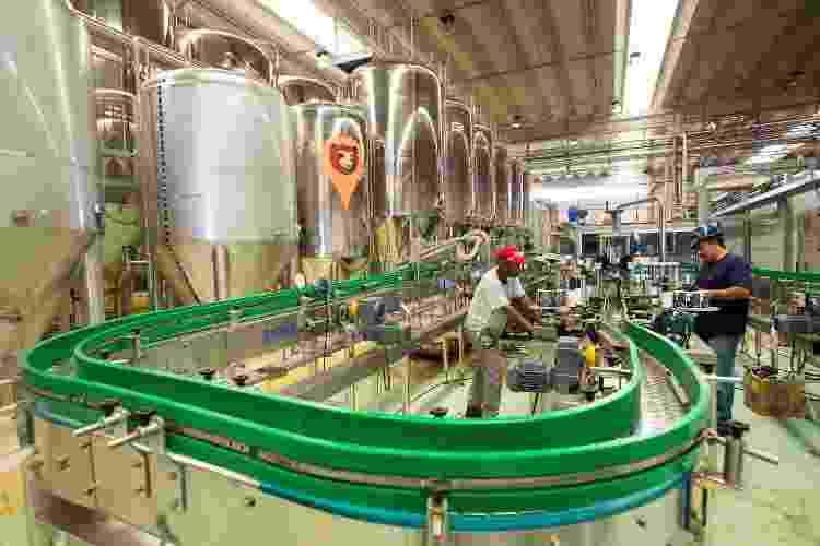 A fábrica da Colorado tem capacidade para produzir até 700 mil litros de cerveja por mês  - Divulgação - Divulgação