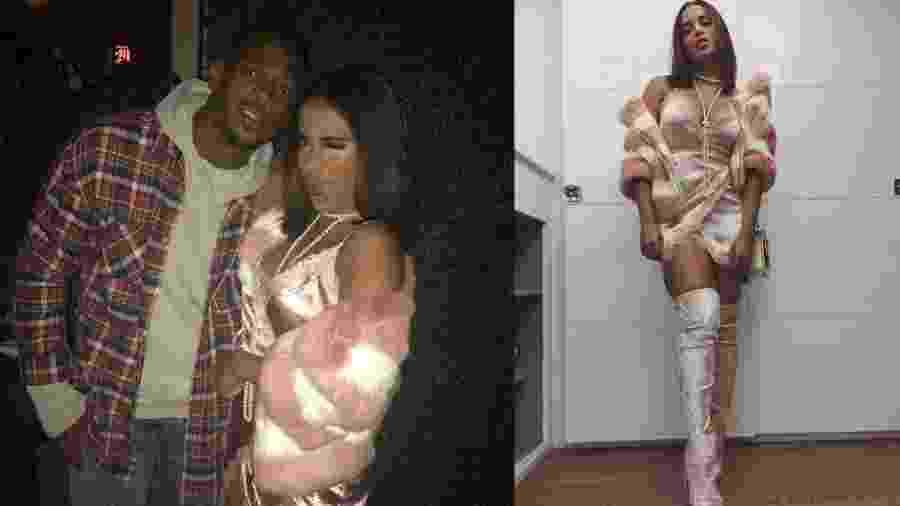 Anitta curte balada com o ator norte-americano Marlon Wayans em Los Angeles - Reprodução/Instagram