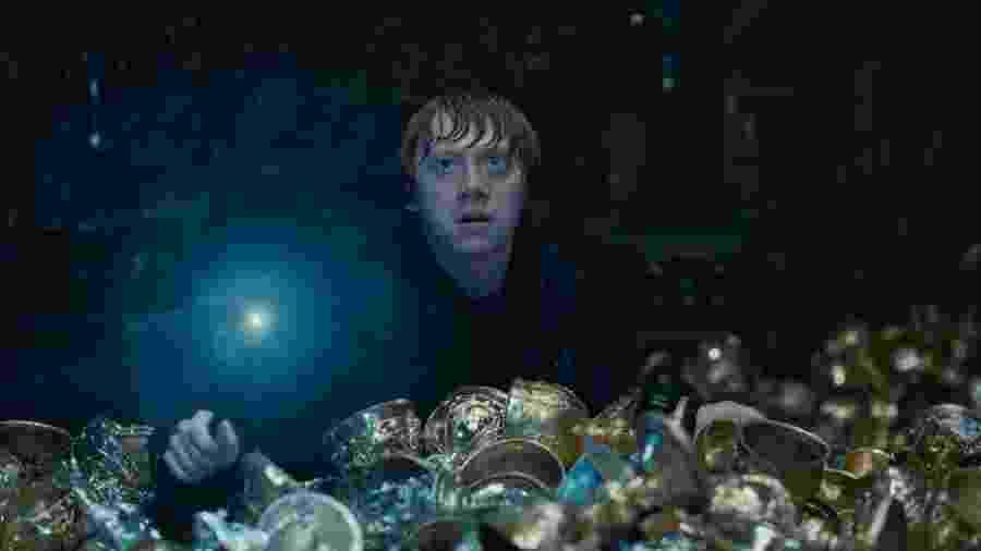 """Ator Rupert Grint no filme """"Harry Potter e as Relíquias da Morte - Parte 2"""" - Reprodução"""