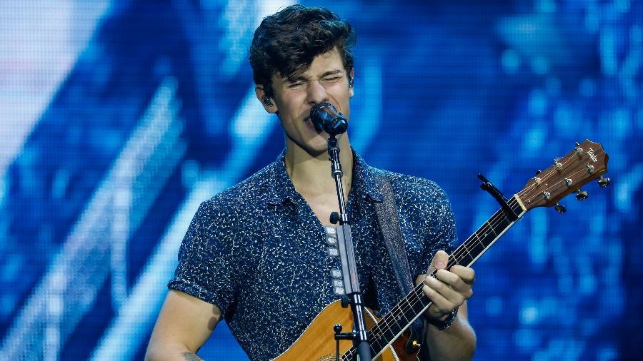 O cantor canadense Shawn Mendes, uma das atrações internacionais do VillaMix Goiânia - Marco Antonio Teixeira/UOL