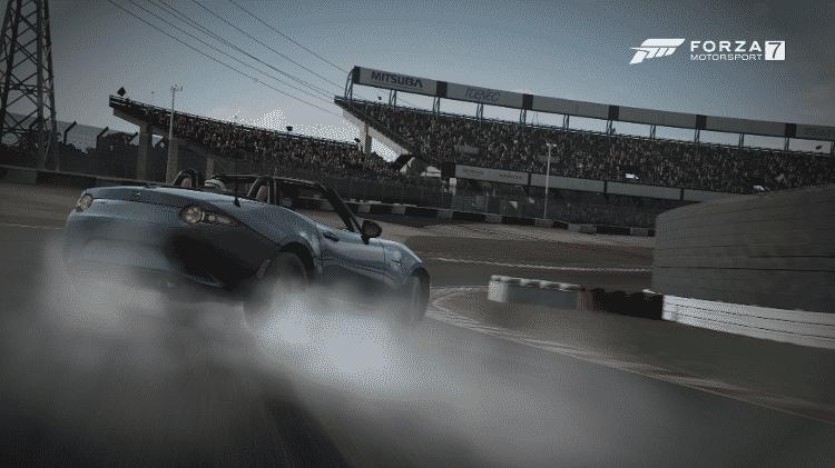 Forza 7 - drift - Reprodução - Reprodução