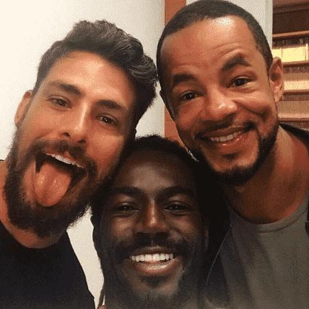 Cauã Reymond, Jonathan Azevedo e Jonathan Haagensen - Reprodução/Instagram/jonathanhaagensen
