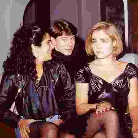 """Gloria Pires, Miguel Falabella e Desirée Vignoli em """"Mico Preto"""" (1990) - Reprodução/TV Globo - Reprodução/TV Globo"""