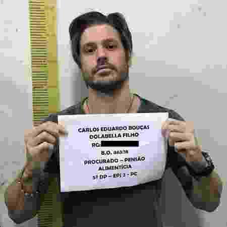 Dado Dolabella está preso no 33º Distrito Policial, em Pirituba, São Paulo - Divulgação/Polícia Civil - Divulgação/Polícia Civil