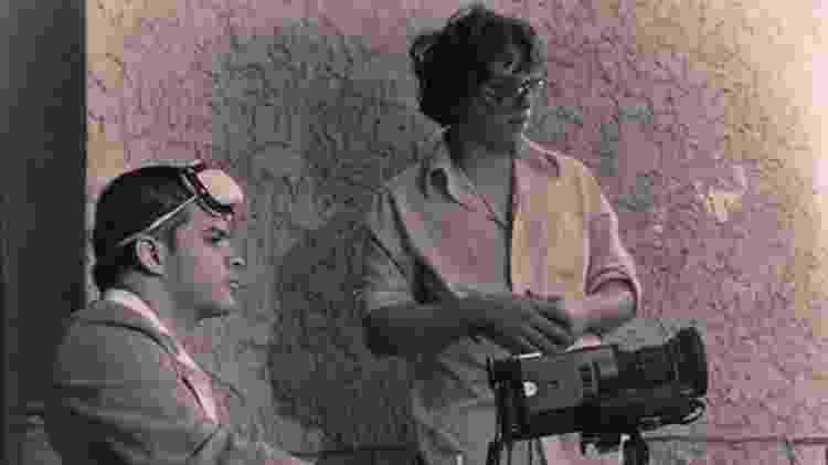 Rigoberto Mora (à esq.) foi sócio de Del Toro (à dir.) em sua primeira empresa, Necropsia - Arquivo Pessoal - Arquivo Pessoal