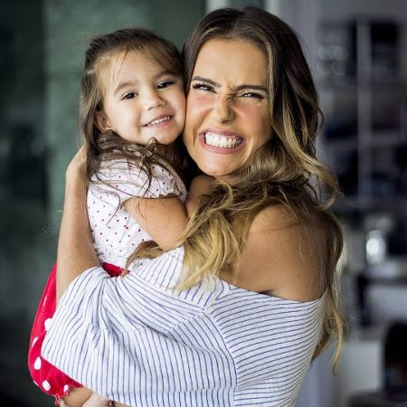 Deborah Secco e a filha Maria Flor - Instagram/Reprodução