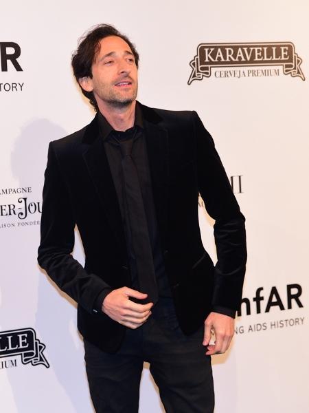O ator Adrien Brody - Deividi Correa / Léo Franco e Thiago Duran / AgNews