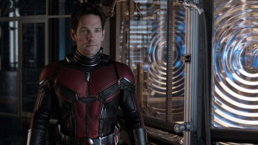 """Paul Rudd, o Homem-Formiga, em cena de """"Homem-Formiga e a Vespa"""" - Marvel Studios"""