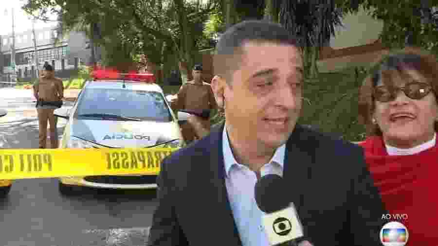 Mulher invade link da Globo - Reprodução/Globo