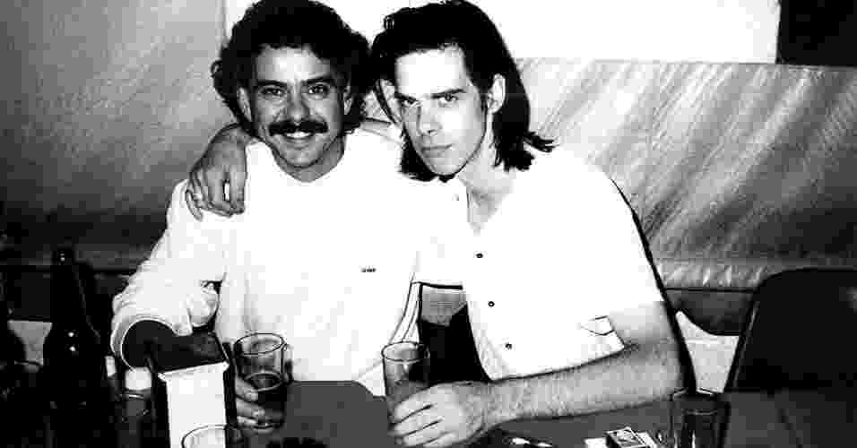 Nick e Sérgio Bastos. Foto: Arquivo Pessoal
