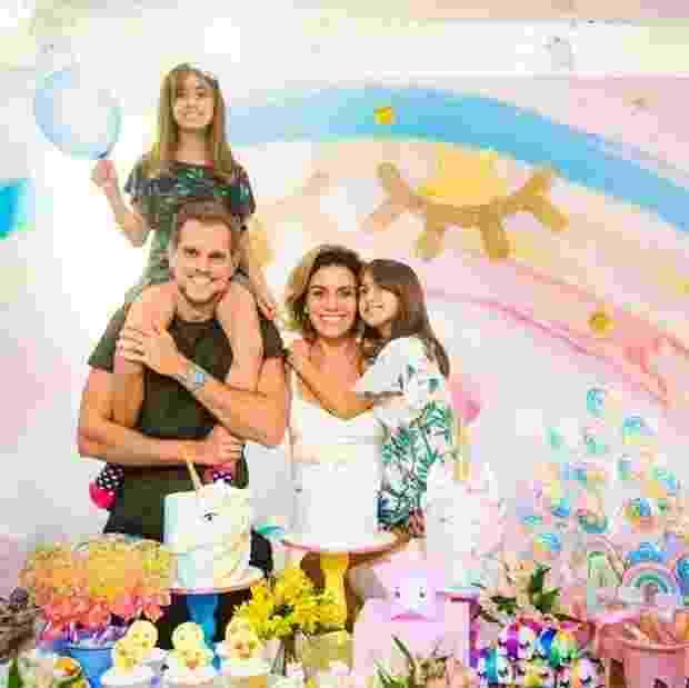 Festa de aniversário das filhas gêmeas de Giovanna Antonelli - Reprodução/Instagram