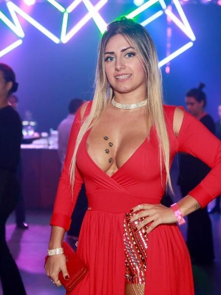 A atriz pornô Mia Linz no Prêmio Sexy Hot 2018 - Iwi Onodera/UOL